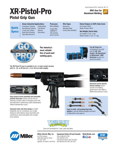 XR-Pistol-Pro Push-Pull Gun