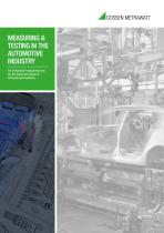 Measuring & Testing in the Automotive Industry