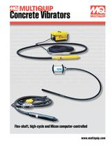 Concrete Vibrators Brochure