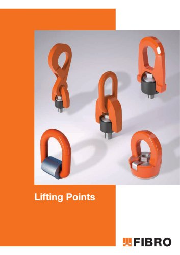 Lifting Points shanks, lifter studs, eyebolts, clamping claws, screws and bolts