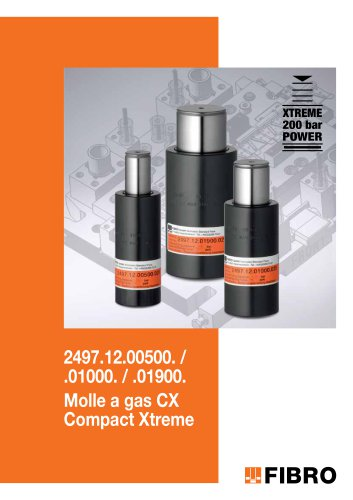 Molla a gas CX, Compact Xtreme,
