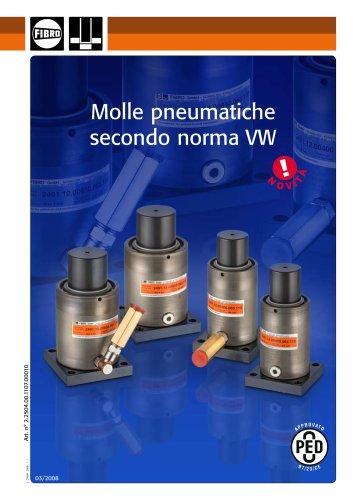 Molle pneumatiche secondo norma VW