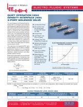 Quiet Operation HDI 3-Port Solenoid Valve