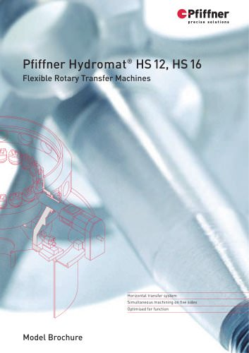 Hydromat HS12 and HS16