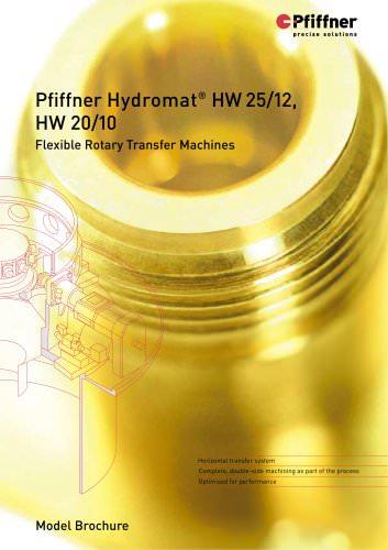 Hydromat HW20/10 and HW25/12
