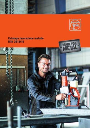 Catalogo lavorazione metallo FEIN 2018/19