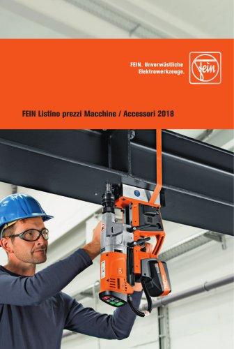 FEIN Macchine / Accessori 01/2018