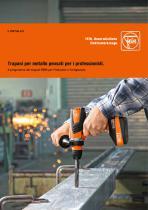 Il programma dei trapani FEIN per l'industria e l'artigianato