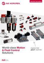 World-class Motion & Fluid Control Solutions
