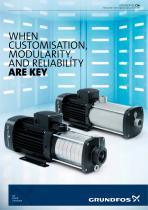 GRUNDFOS CM, Horizontal multi-stage pumps up to 7.5 kW