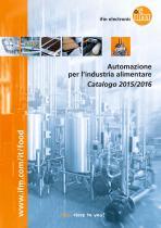 Automazione per l'industria alimentare Catalogo 2015/2016