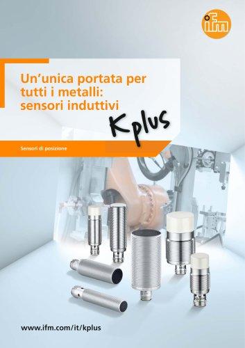 Un'unica portata per tutti i metalli: sensori induttivi Kplus