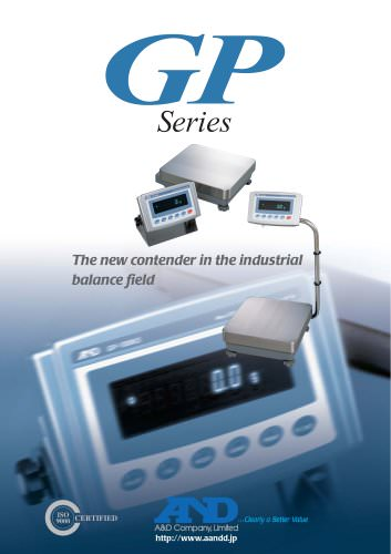 GP Series of Precision Industrial Balances