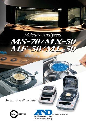 Moisture Analyzer/M series