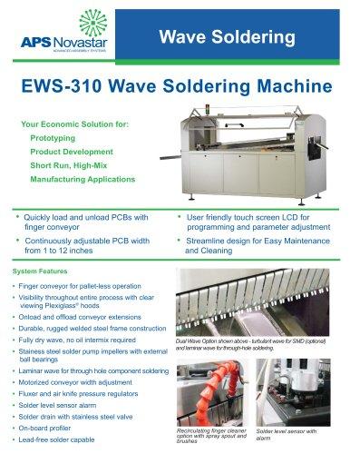 EWS-310 Wave Soldering Machine