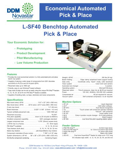 L-SF40 Low-Cost Benchtop
