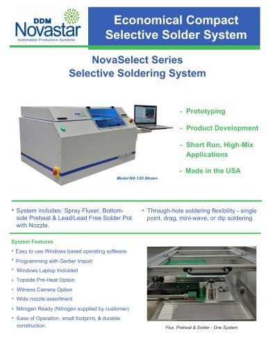 NovaSelect Series Selective Soldering System