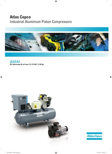 Atlas Copco Industrial Aluminium Piston Compressors