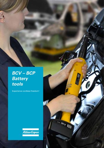 BCV – BCP Battery tools
