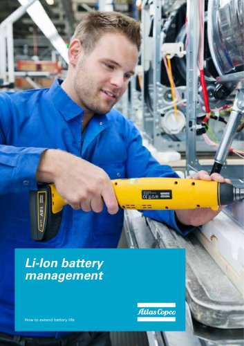 Li-Ion battery management