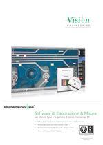 DimensionOne - Software di elaborazione & misura