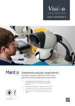 Mantis Stereomicroscopi ergonomici