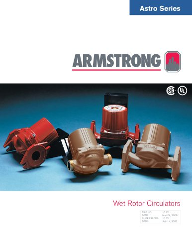 Astro Series Wet Rotor Circulators