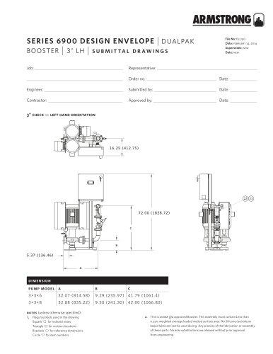 Design Envelope 6900 DualPAK Boosters, 3