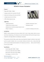 MPM4511 Pressure Transmitter