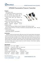 MPM480 pressure transmitter