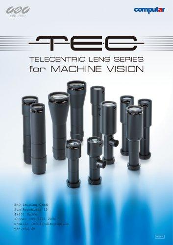 EHD Small Telecentric Megapixel Lenses