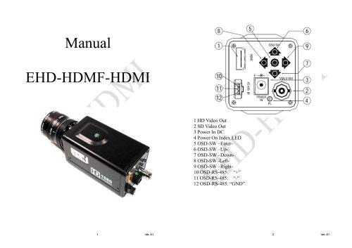 EHD720p/1080i