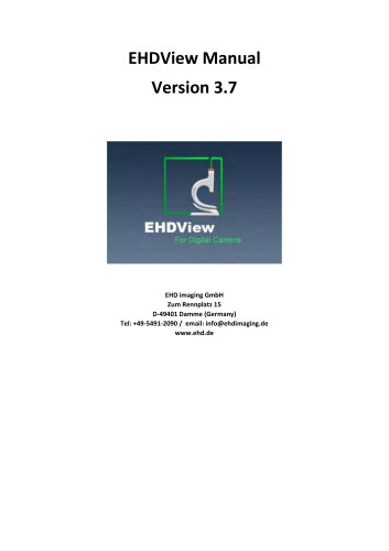 EHDView Image Analysing Software
