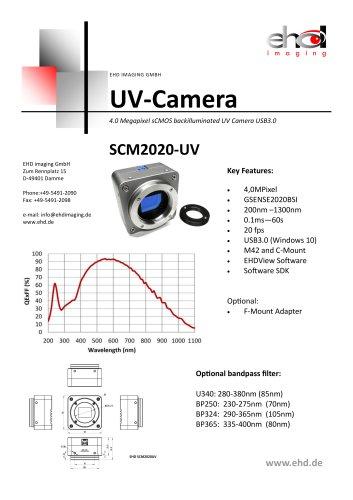 UV‐Camera SCM2020‐UV