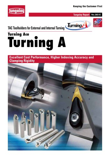 TAC Toolholders for External and Internal Turning Turning A