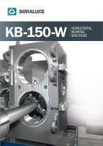 KB-150-W HORIZONTAL BORING MACHINE