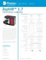 ZephIR™ 1.7 - Deep-Cooled InGaAs Camera