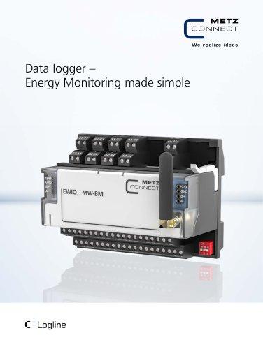C|Logline - Data logger – Energy Monitoring made simple