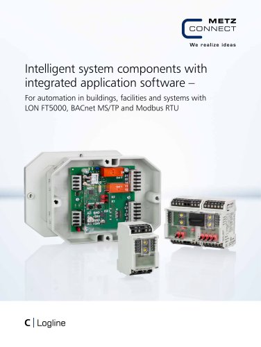C|Logline - Intelligent system components with integrated application software