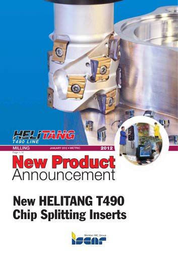 New HELITANG T490 Chip Splitting Inserts