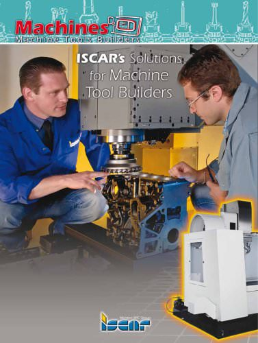 Solutions for machine tool builders