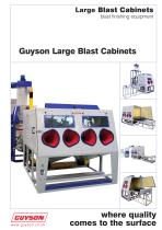 Large Blast Cabinets