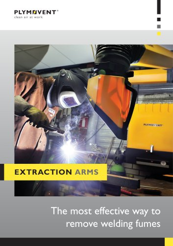 Extraction arms - Capturing fumes at the source
