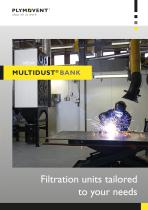 MultiDust Bank - Filtration units tailored to your needs