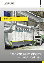 Oil mist - Filter systems for effective removal of oil mist