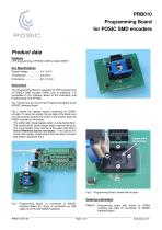 PRB010 Programming Board for POSIC SMD encoders