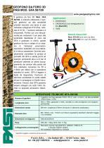 GEOFONO DA FORO 3D PASI MOD. GFA 50/100