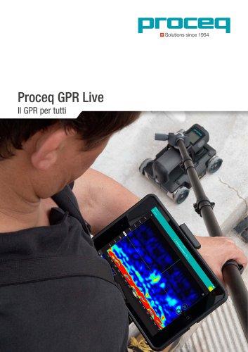 Proceq GPR Live
