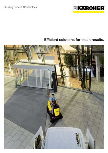 Building Service Contractors Brochure