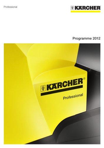 Programme 2012 Professional